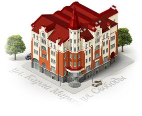 Дизайн сайта офисного центра «Свобода»